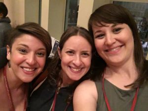 Rae, Dina, and Whitney at Hippocamp