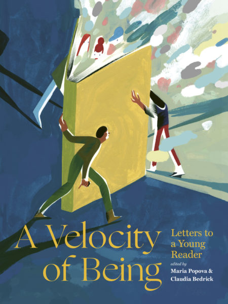 Book cover of A Velocity of Being.