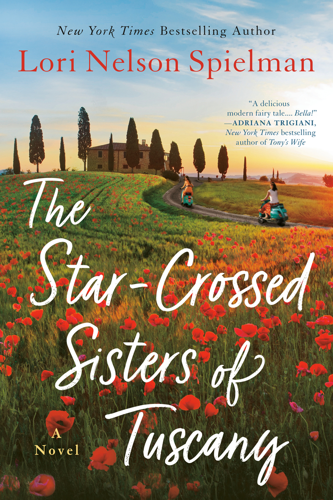 Book cover for The Star-Crossed Sisters of Tuscany