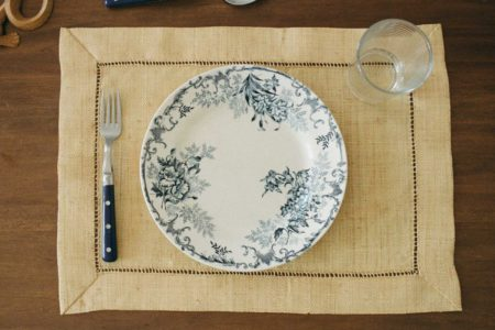 Empty place at placesetting