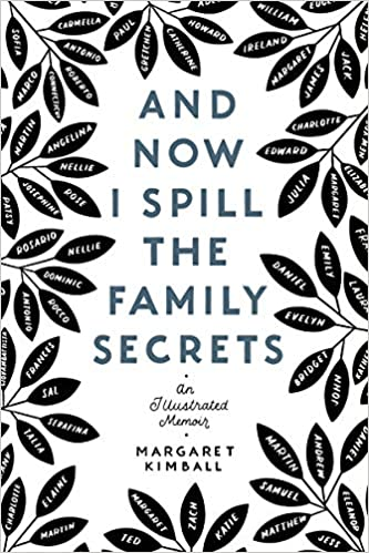 Book cover for And Now I Spill the Family Secrets by Margaret Kimball