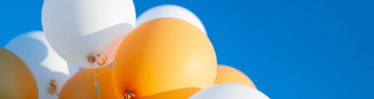 Balloons agains the sky